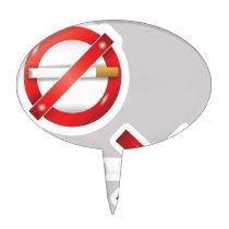 cigarette cake topper
