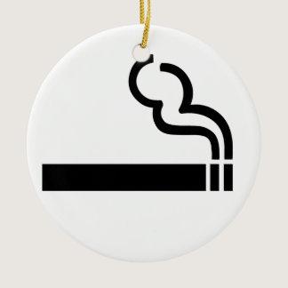 Cigarette Ceramic Ornament