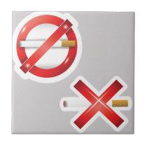 cigarette ceramic tile