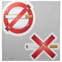 cigarette cloth napkin