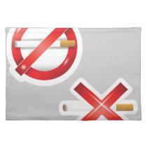 cigarette cloth placemat