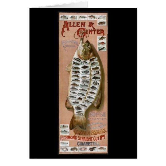 Cigarette Fish Cards