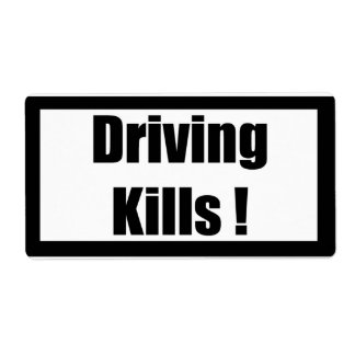 Cigarette Label Spoof - Driving