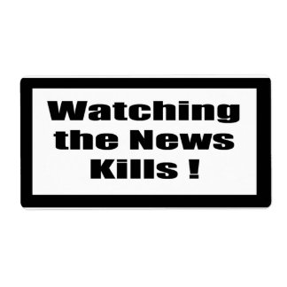 Cigarette Label Spoof - Watching News