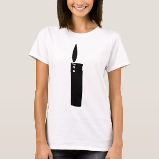 cigarette lighter with flame icon T-Shirt