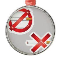 cigarette metal ornament