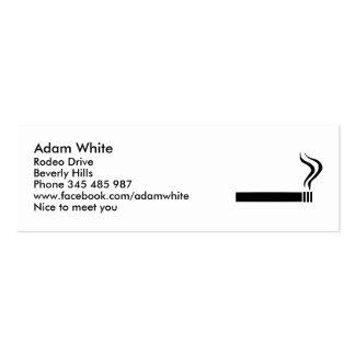 Cigarette Mini Business Card