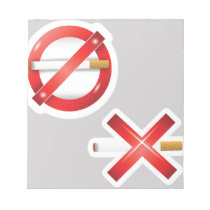 cigarette notepad