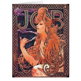 Cigarette Paper Ad 1896 Card