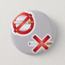 cigarette pinback button