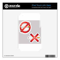 cigarette skin for iPod touch 4G