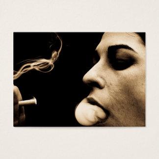 Cigarette Smoke business cards