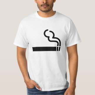 Cigarette Smoking Allowed Symbol Tobacco OK Sign T-Shirt