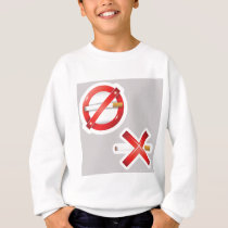 cigarette sweatshirt