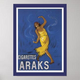 Cigarettes Araks Advertisement Posters