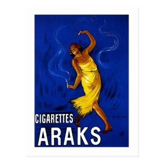 Cigarettes Araks Post Cards