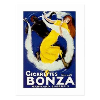Cigarettes Bonza Postcards