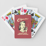 Cigarettes: Cancer Maybe Smooth Def. Bicycle Playing Cards