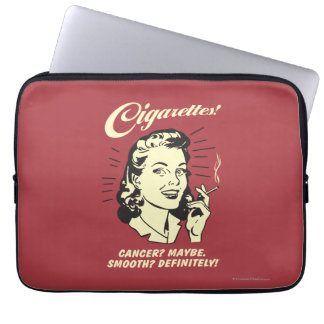 Cigarettes: Cancer Maybe Smooth Def. Computer Sleeve