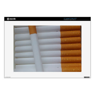 "Cigarettes Funny Smokers Background 15"" Laptop Decals"