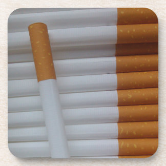 Cigarettes Funny Smokers Background Drink Coaster