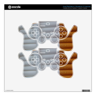 Cigarettes Funny Smokers Background Skin For PS3 Controller