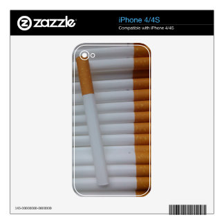 Cigarettes Funny Smokers Background Skins For iPhone 4S