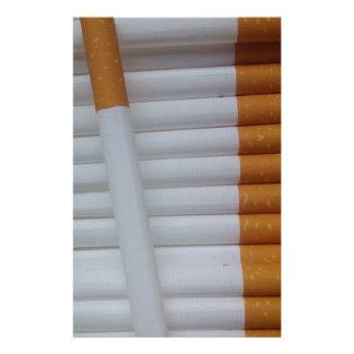 Cigarettes Funny Smokers Background Stationery
