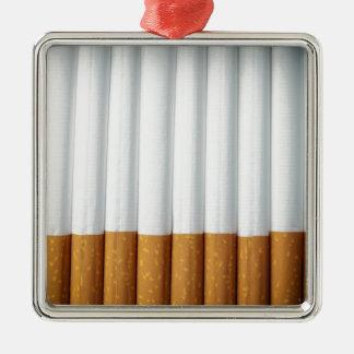 Cigarrillos Adorno Navideño Cuadrado De Metal