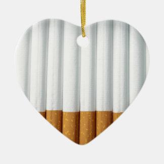 Cigarrillos Adorno Navideño De Cerámica En Forma De Corazón