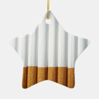 Cigarrillos Adorno Navideño De Cerámica En Forma De Estrella
