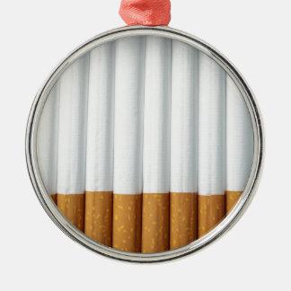 Cigarrillos Adorno Navideño Redondo De Metal