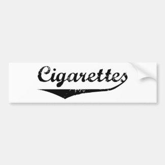 Cigarrillos Etiqueta De Parachoque