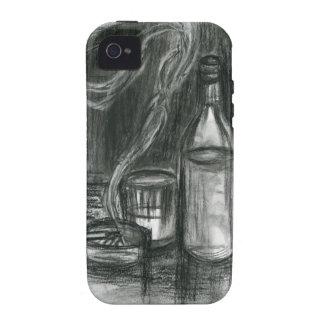 Cigarrillos y alcohol vibe iPhone 4 fundas