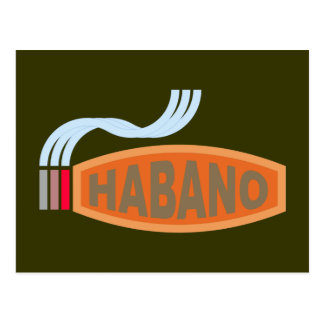 Cigarro cigar Habano Postales