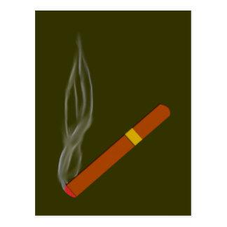 Cigarro cigar tarjeta postal