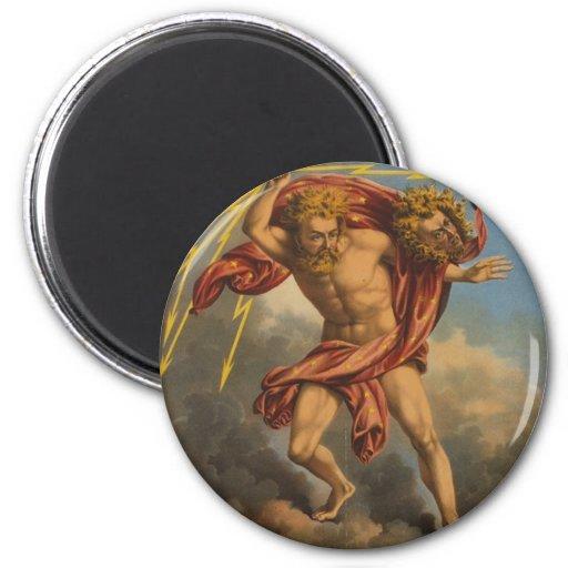 cigarro de Júpiter Imán Redondo 5 Cm