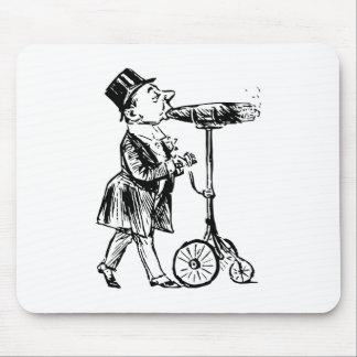 Cigarro en Räder cigar on wheels Alfombrillas De Ratones