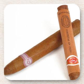 Cigarros cubanos posavaso