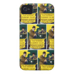 Cigarros del club de Cubano del vintage Case-Mate iPhone 4 Protector