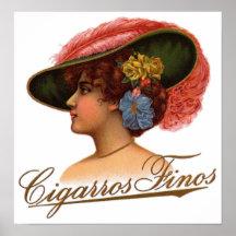 Cigarros Finos Posters