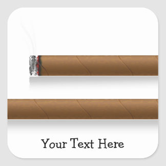 Cigars (personalized) sticker