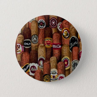 Cigars Pinback Button