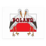 Cigüeña blanca polaca Polonia Postal