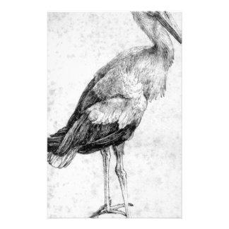 Cigüeña de Albrecht Durer Papelería