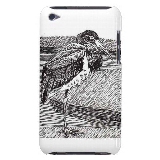 Cigüeña negra iPod Case-Mate cárcasas