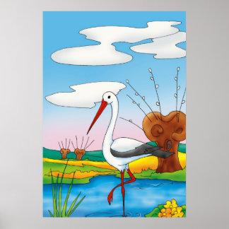 Cigüeña - poster