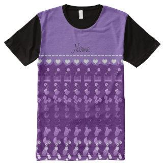 Cigüeña púrpura conocida del pacificador del