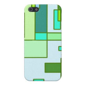Cilantro a la Mondrian iPhone 5 Cases