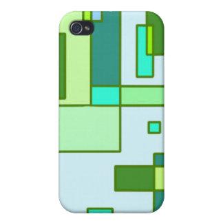 Cilantro a la Mondrian iPhone 4/4S Covers